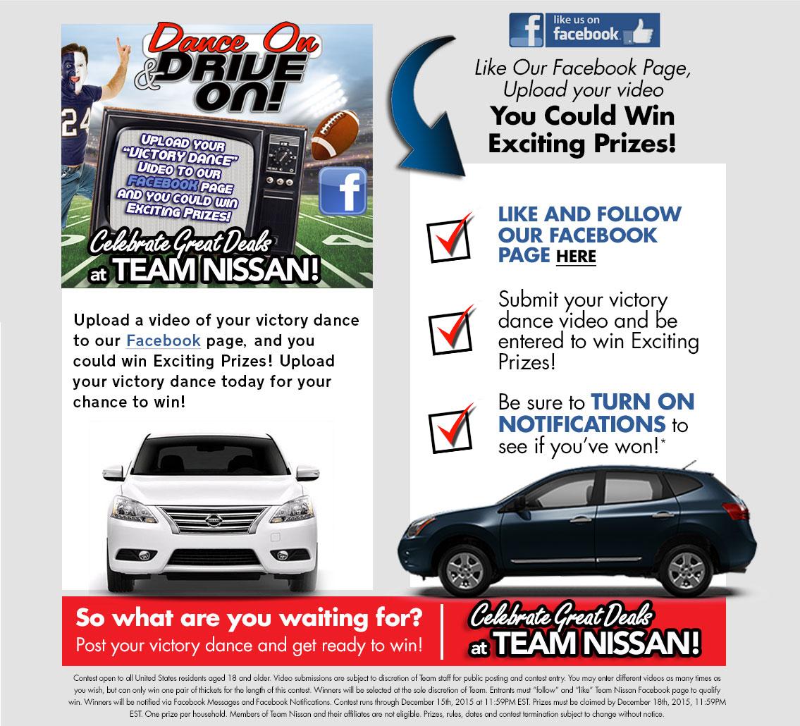 Dance On U0026 Drive On At Team Nissan North