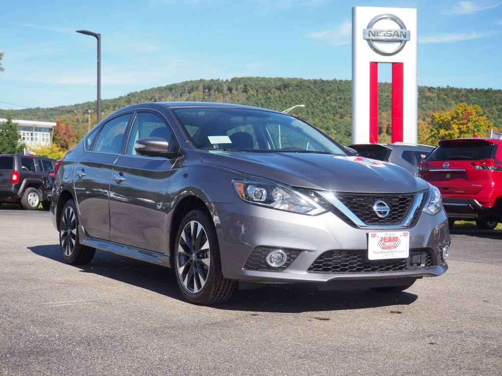 New 2019 Nissan Sentra SR Sedan in Lebanon NH