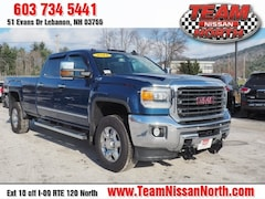 Used 2015 GMC Sierra 3500HD SLT Truck Crew Cab in Lebanon NH