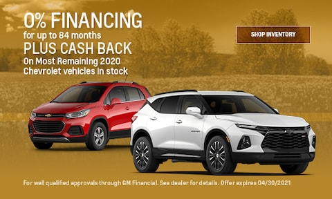 0% Financing for up to 84 months- April Offer