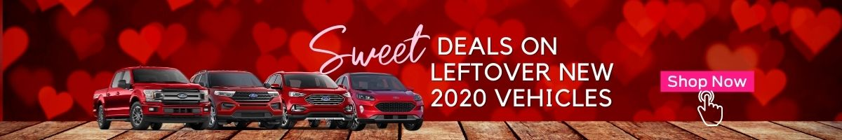 Deals on Leftover 2020 New Ford vehicles February 2021