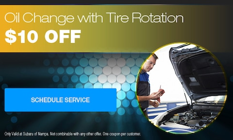 Oil Change and Tire Rotation Special
