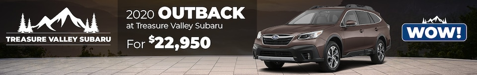 July 2020 CPO Outback Special