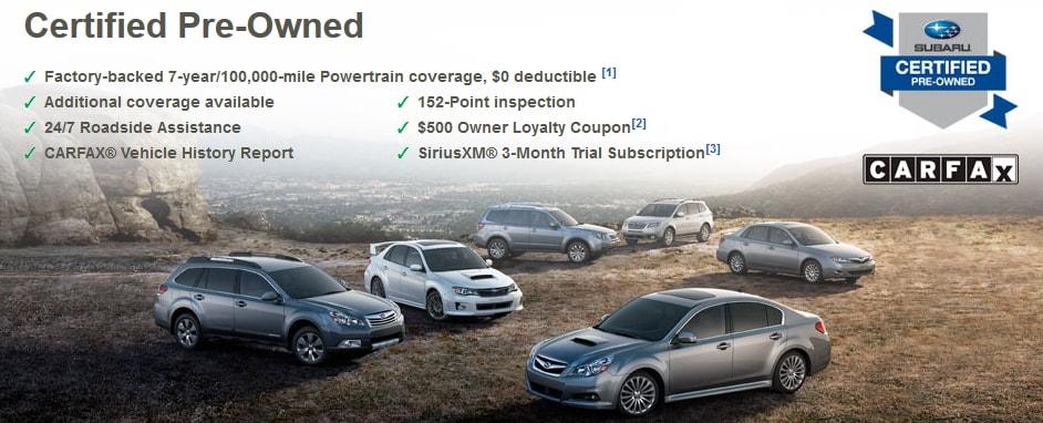 Certified Pre Owned Subaru Models At Team Mazda Subaru In Caldwell Id