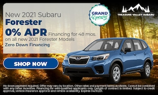 April 2021 Forester Special