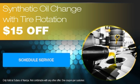 Synthetic Oil Change With Tire Rotation Special