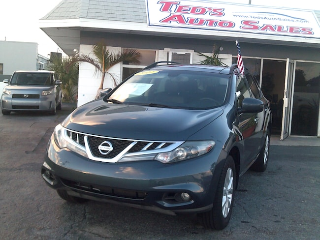 Used 2012 Nissan Murano SL w/Panoramic Sunroof SUV in St. Petersburg, FL