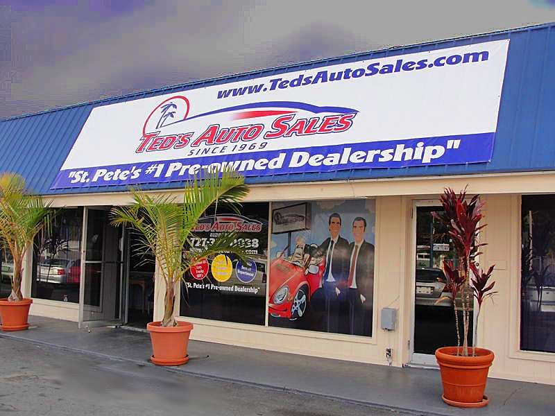 ted 39 s auto sales used car dealership st petersburg fl near clearwater. Black Bedroom Furniture Sets. Home Design Ideas