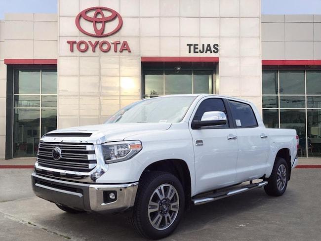 2018 Toyota Tundra 1794 5.7L V8 w/FFV Truck CrewMax