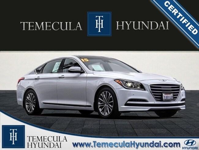 Certified Pre-Owned 2015 Hyundai Genesis 3.8 Signature, Tech & Ultimate Packages-Certified Sedan in Temecula, CA near Hemet