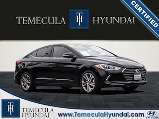 Certified Pre-Owned 2017 Hyundai Elantra Limited Certified Sedan in Temecula, CA near Hemet