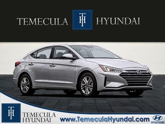 New 2020 Hyundai Elantra SEL Sedan in Temecula, CA near Hemet