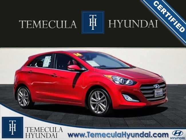 Certified Pre-Owned 2016 Hyundai Elantra GT Style Package-Certified Hatchback in Temecula, CA near Hemet