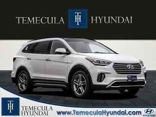 New 2019 Hyundai Santa Fe XL Limited Ultimate SUV in Temecula near Hemet