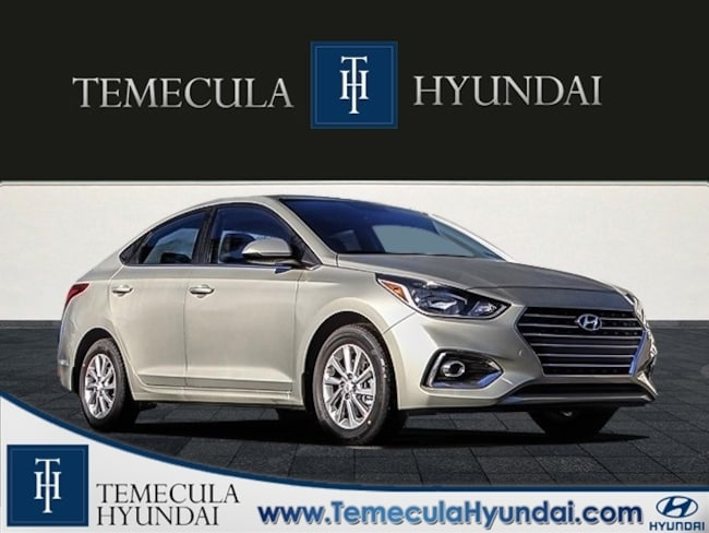 New 2019 Hyundai Accent SEL Sedan in Temecula, CA near Hemet