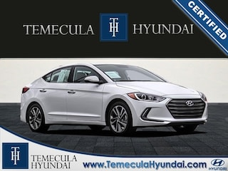 Certified Pre-Owned 2017 Hyundai Elantra Limited Tech Package-Certified Sedan in Temecula, CA near Hemet