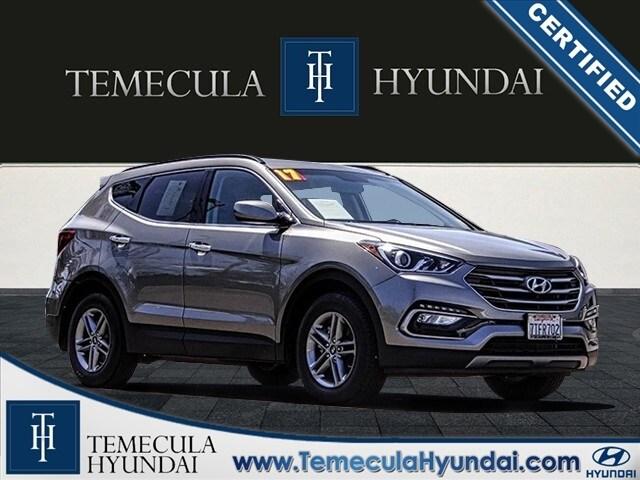 2017 Hyundai Santa Fe Sport Popular Package-Certified SUV