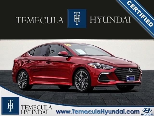 2018 Hyundai Elantra Sport Certified Sedan