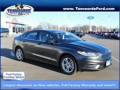 New 2018 Ford Fusion SE Sedan 181673 for sale in St Cloud, MN