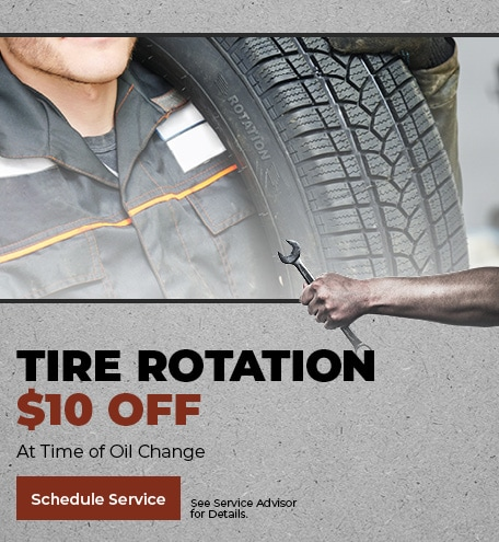 Tire Rotation $10 Off