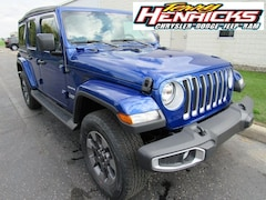 New 2018 Jeep Wrangler UNLIMITED SAHARA 4X4 Sport Utility in Archbold, OH