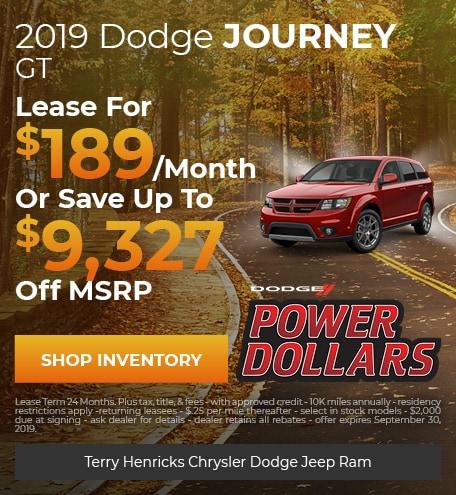 September   Dodge Journey GT