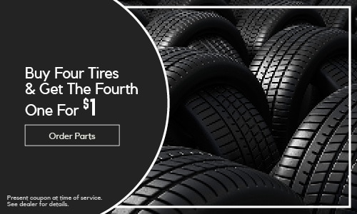 Buy 3 Tires & Get the 4th One For $1