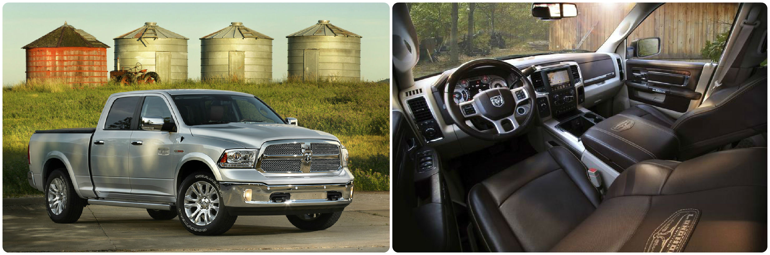 Ram 1500 interior and exterior pictured in Ohio