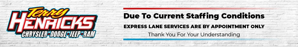 Express Lane Appointment Only