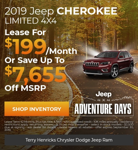 September   Jeep Cherokee Limited