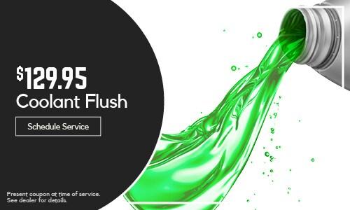 Coolant Flush $129.95