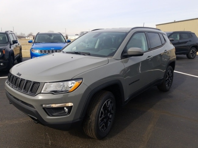New 2019 Jeep Compass UPLAND 4X4 Sport Utility for sale in Archbold OH.