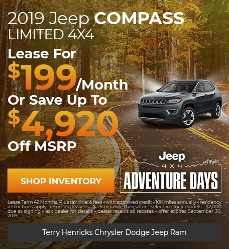 September   Jeep Compass Limited