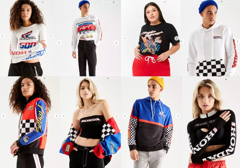Honda Forever 21 Launch An Exclusive Fashion Collaboration Hare