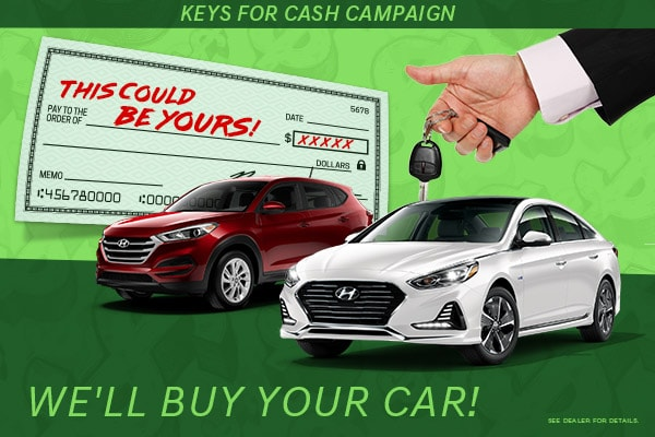 Terry Reid Hyundai's Key's for Cash Campaign | Cartersville, GA