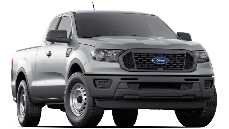 2020 Ford Ranger XL SuperCrew - Iconic Silver