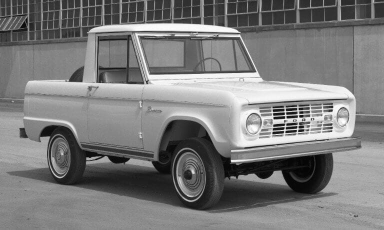 Ford Bronco 1st Generation Sport Utility