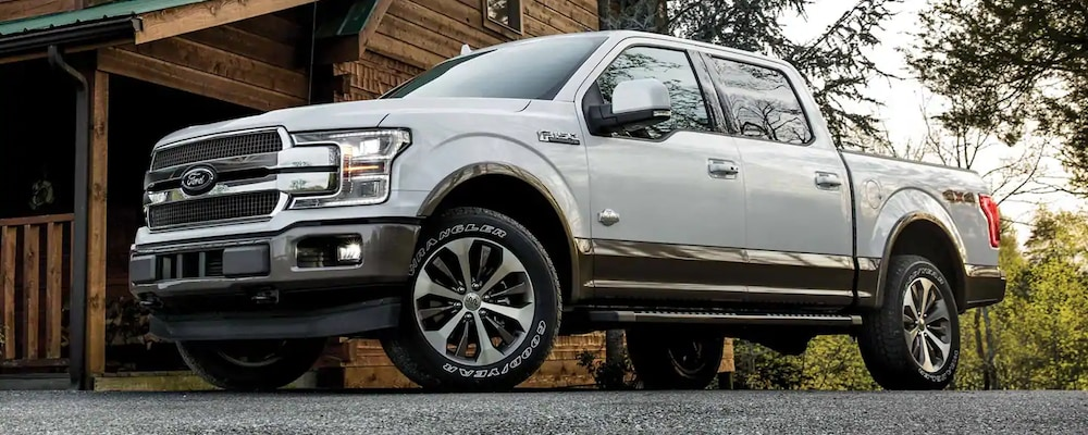2019 F-150 parked