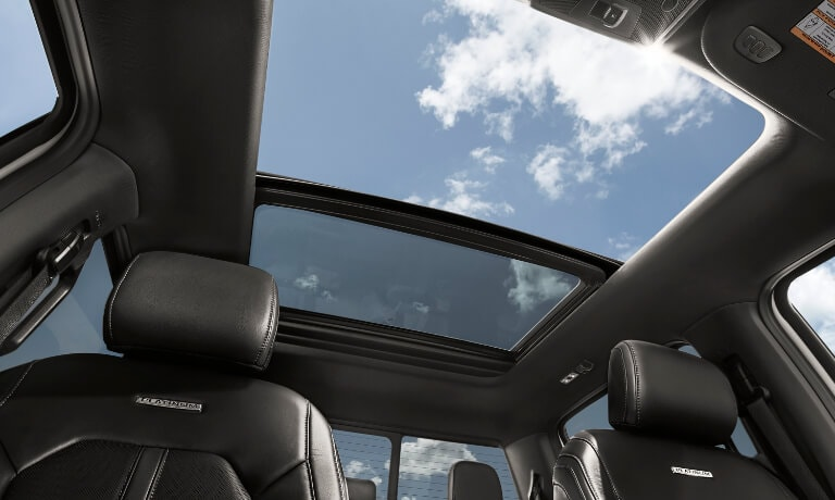 2020 Ford F-150 interior twin-panel moonroof