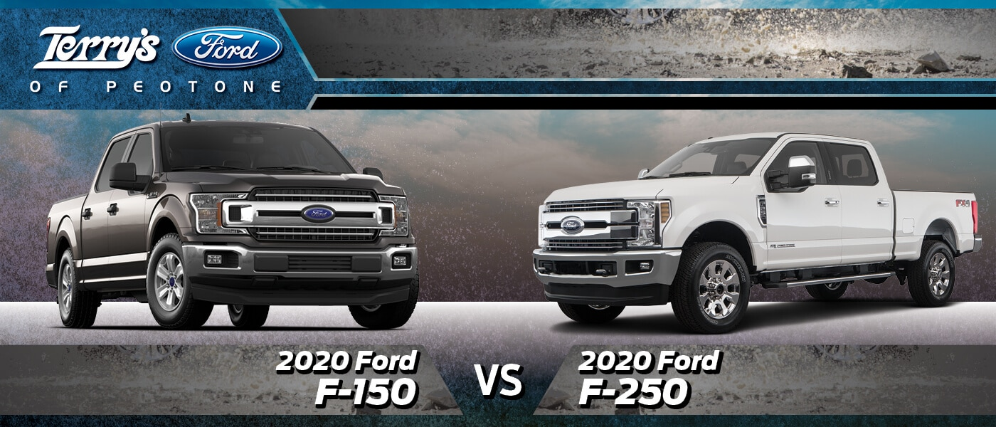 2020 Ford F-150 vs F-250 in Peotone, IL