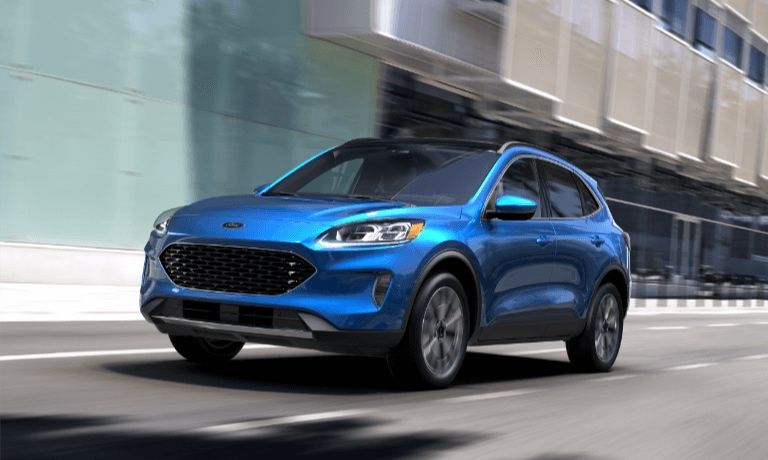 2020 Ford Escape exterior driving in city