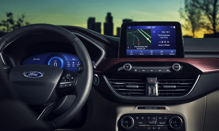 2020 Ford Escape interior dashboard