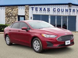 2019 Ford Fusion S Sedan