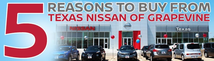 Five Reasons You Should Buy Your Next Nissan from Texas Nissan