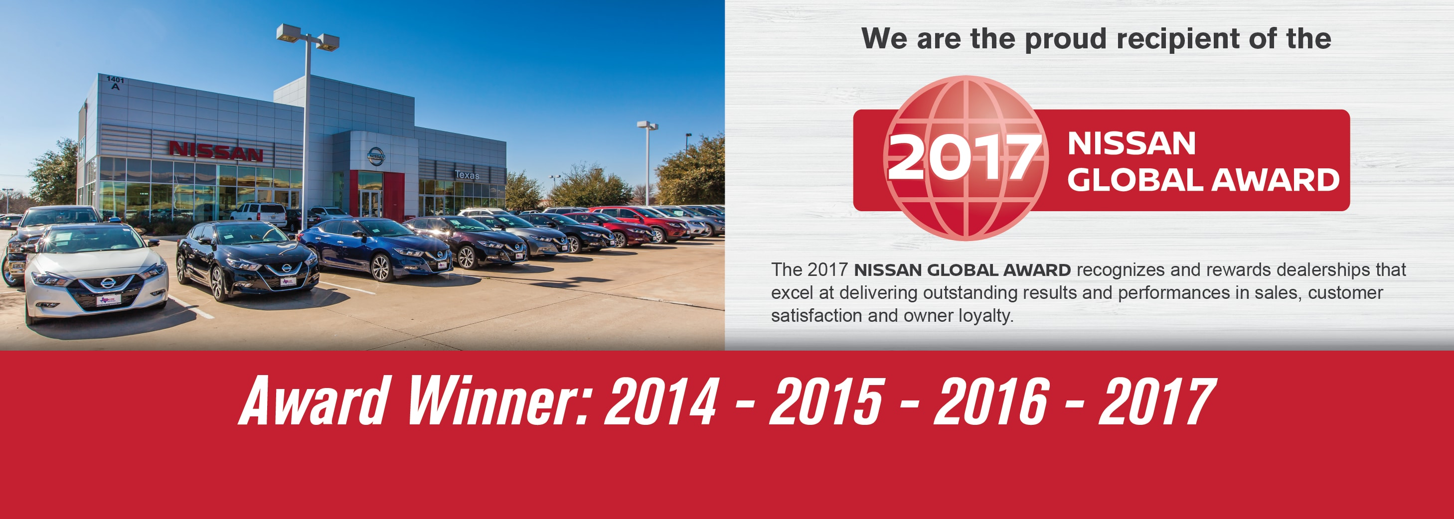 TEXAS NISSAN SERVING THE FORT WORTH AREA