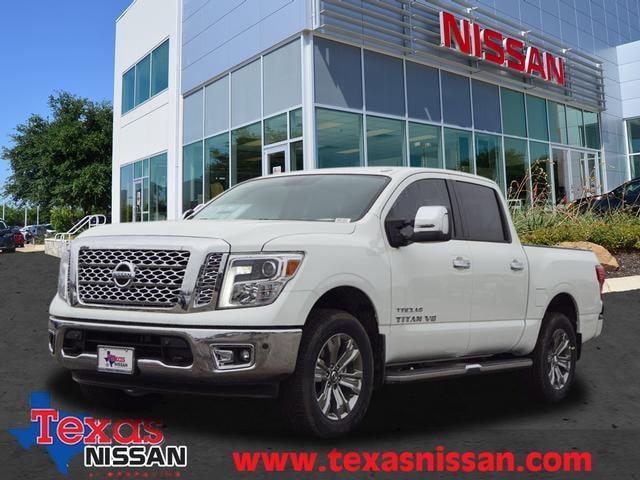 2019 Nissan Titan SL Truck Crew Cab