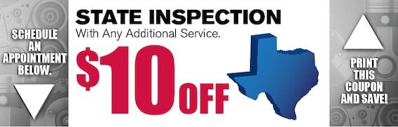State Inspection Coupon >> State Inspection Coupon Texas Nissan Service Grapevine Tx