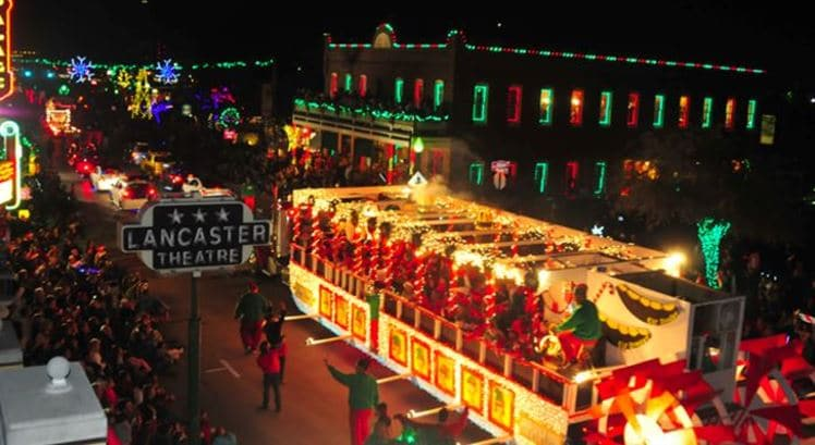 Grapevine Christmas Lighting Events