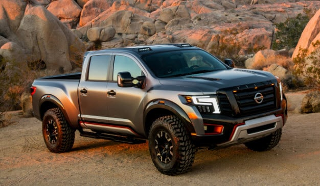 Nissan Titan Warrior Concept is an Off-Road Savage