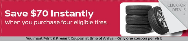 Tire Savings Coupon, Grapevine